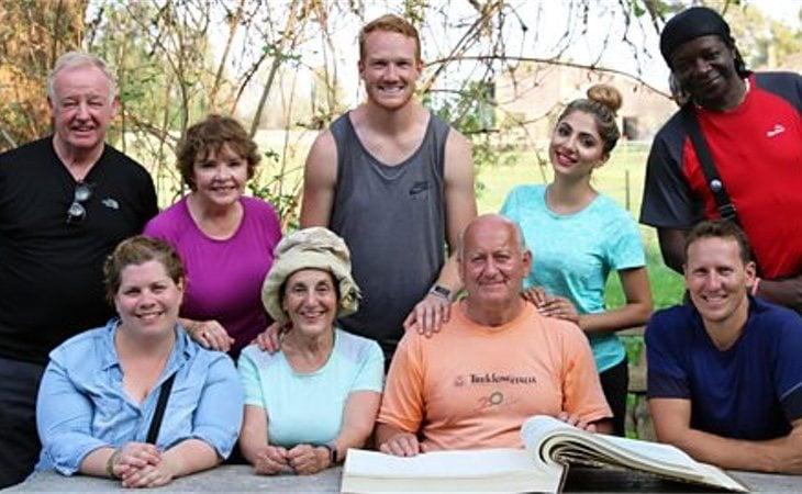 Participantes del programa 'Road to Rome' de la BBC