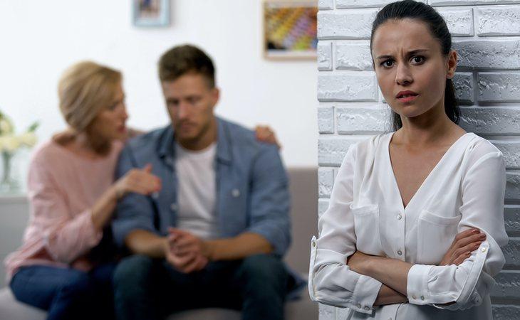 Su recién estrenado marido la abandonó por su suegra
