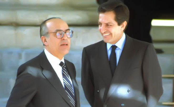 Leopoldo Calvo-Sotelo y Adolfo Suárez