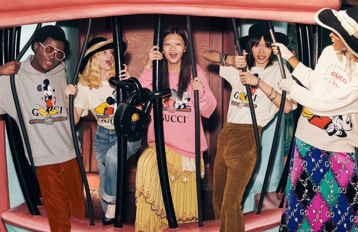 La exclusiva colección de Gucci para Disney
