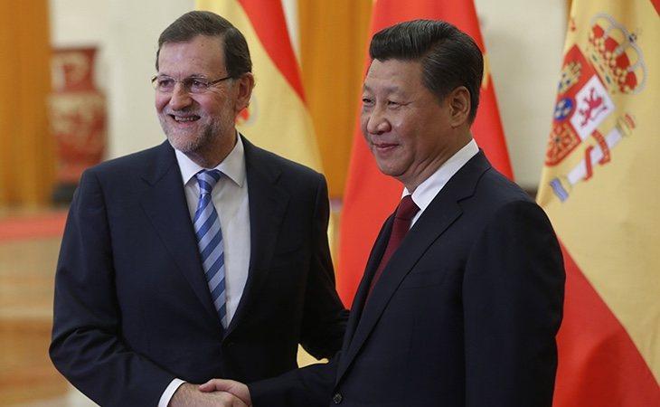 Rajoy ha mantenido buenas relaciones con el régimen de Pekín