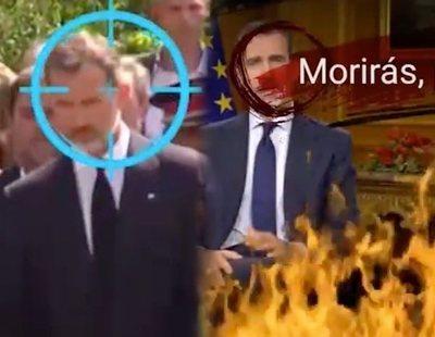 """Daesh amenaza de muerte a Marlaska, Rajoy y avisa al Rey Felipe: """"Morirás, puerco"""""""