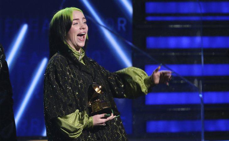 Billie Eilish, la gran triunfadora de los Grammy 2020