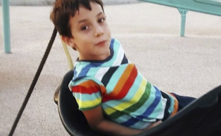El pequeño Gabriel Cruz