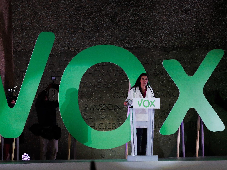 Rocío Monasterio (VOX), investigada por posible delito de odio contra los menores extranjeros (MENAS)