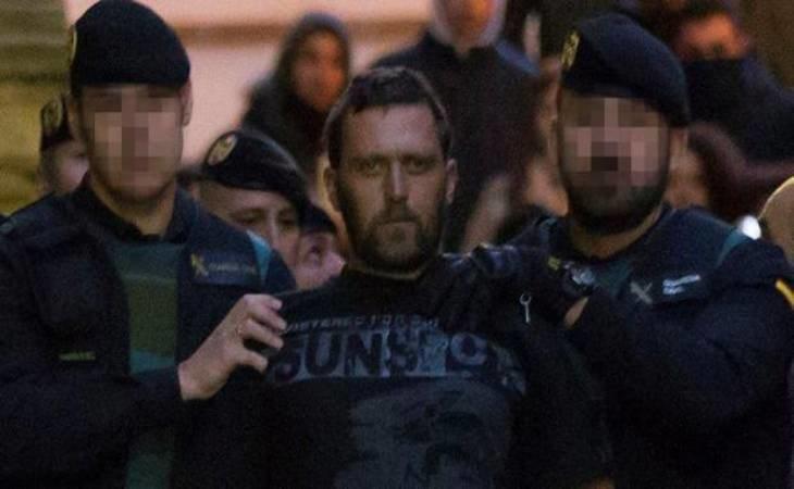 Norbert Feher, alias Igor el Ruso, poco después de ser detenido en 2017, tras matar a tres personas en Teruel -Efe