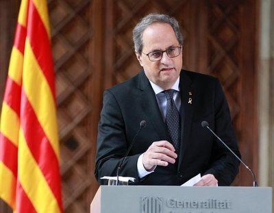 Quim Torra anunciará elecciones en Cataluña tras aprobar los presupuestos