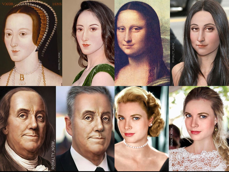 La Mona Lisa, Alejandro Magno o Cleopatra: así serían si viviesen en la actualidad