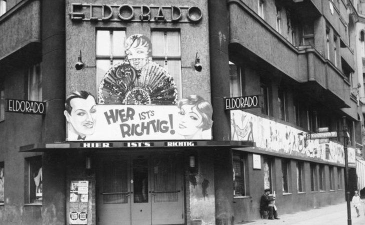 ElDorado era uno de los clubes regentados por homosexuales en el Berlín de Weimar...