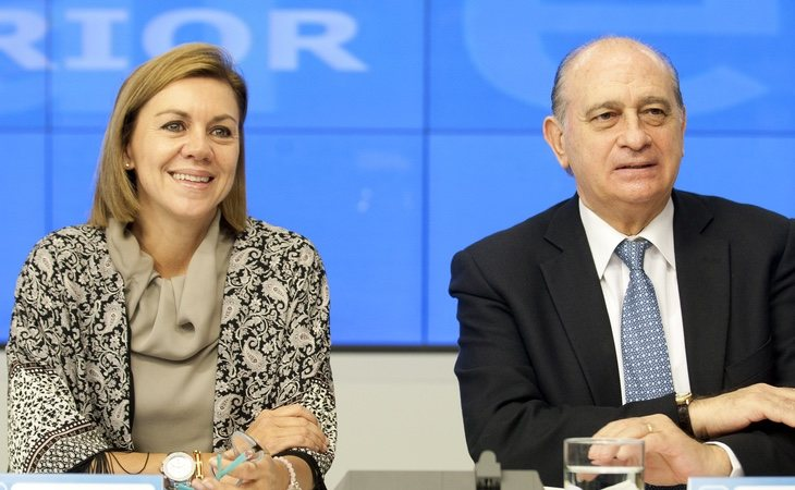 El uso de fondos reservados dependía del entonces ministro del Interior, Jorge Fernández Díaz