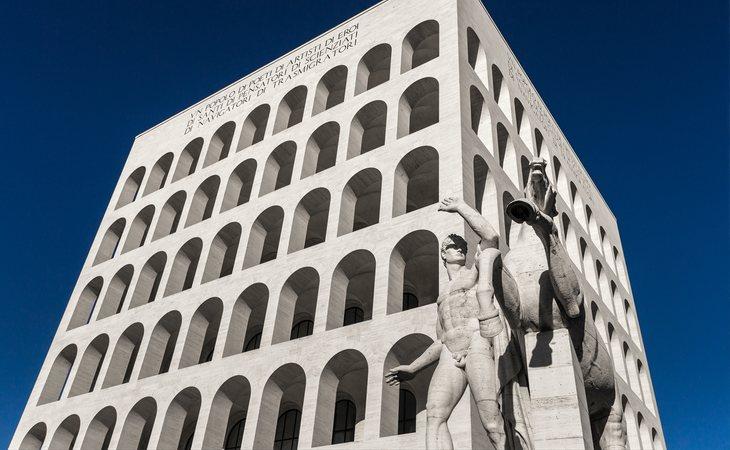 Colosseo Quadrato de Roma