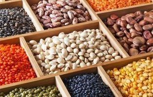 Las 5 legumbres que tienen más calorías y te aportan más energía