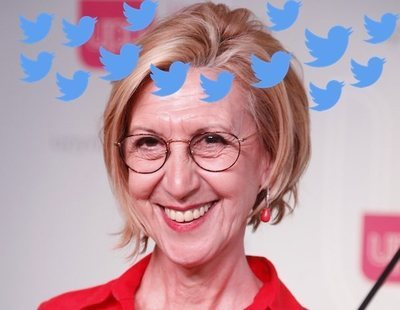 La surrealista cuenta fake de Rosa Díez que promete liarla en Twitter