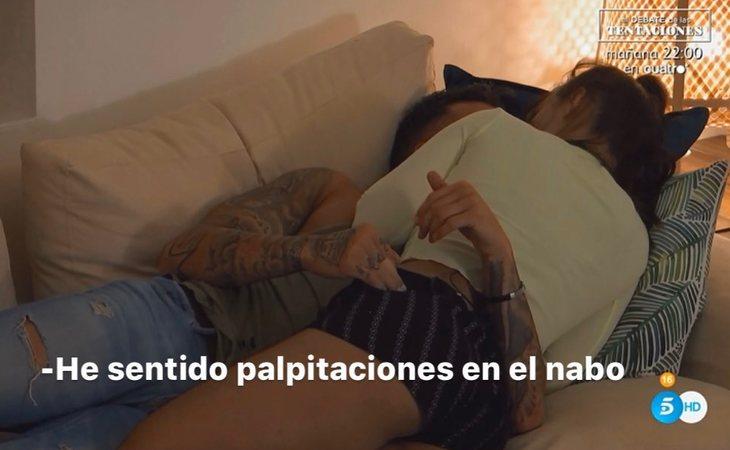 Rubén siente 'palpitaciones en el nabo' con Fani en 'La isla de las tentaciones'