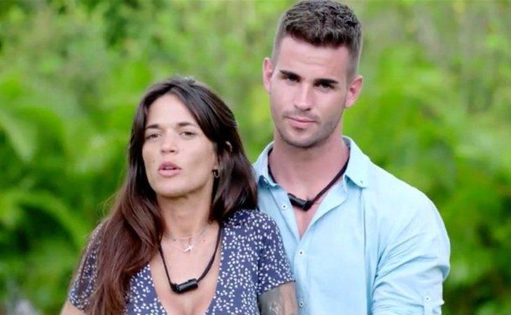 Fiama y Álex en 'La isla de las tentaciones'