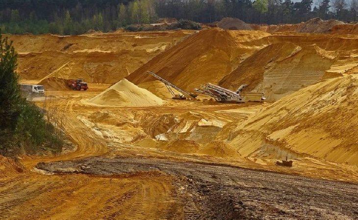 Las condiciones de trabajo en las minas son especialmente duras