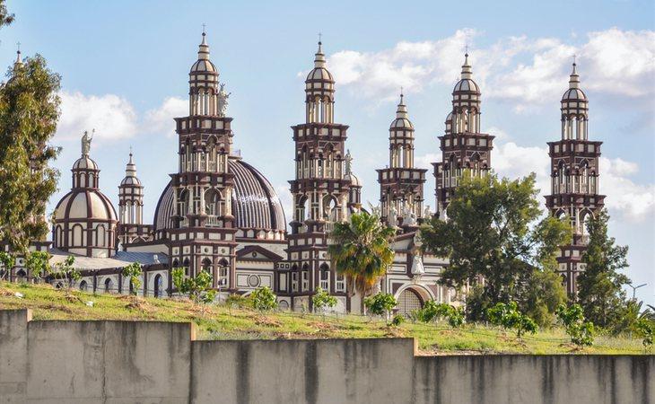 La catedral de la Iglesia Palmariana
