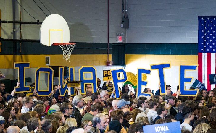 Pete Buttigieg, vencedor en Iowa en las primarias demócratas