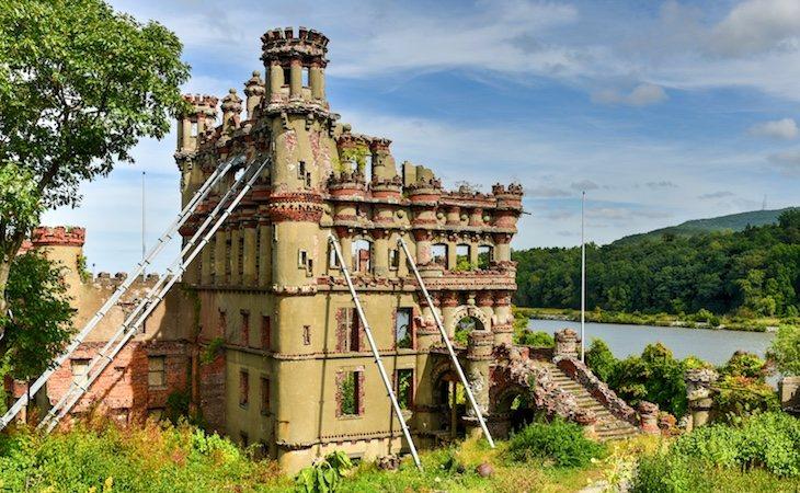 El castillo nunca llegó a terminarse