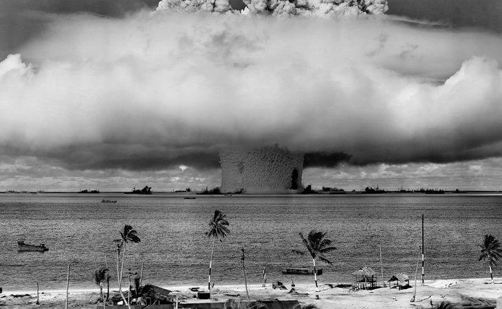 La prueba nuclear de 1946 ha dejado este paraje como inhabitable