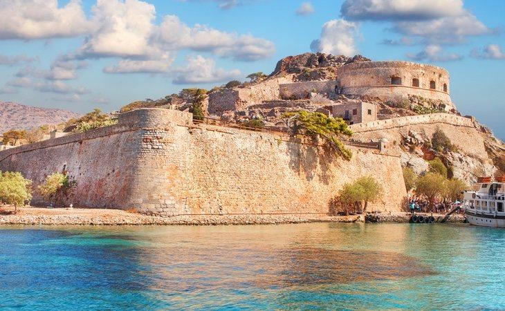La isla ha quedado completamente desierta