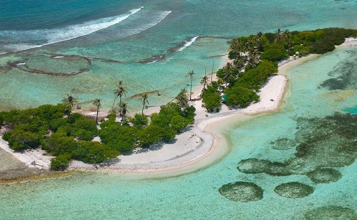 La isla fue contaminada a causa de las pruebas