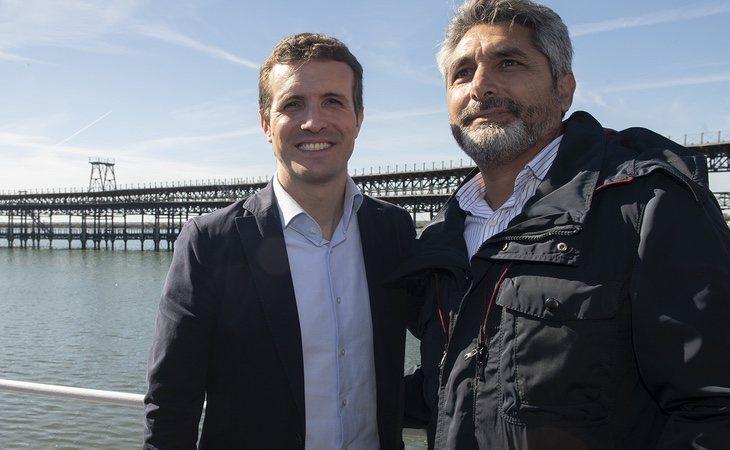 Juan José Cortés llegó al mundo de la política de la mano de Pablo Casado
