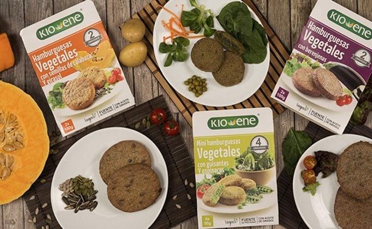 Hamburguesas vegatales de Mercadona