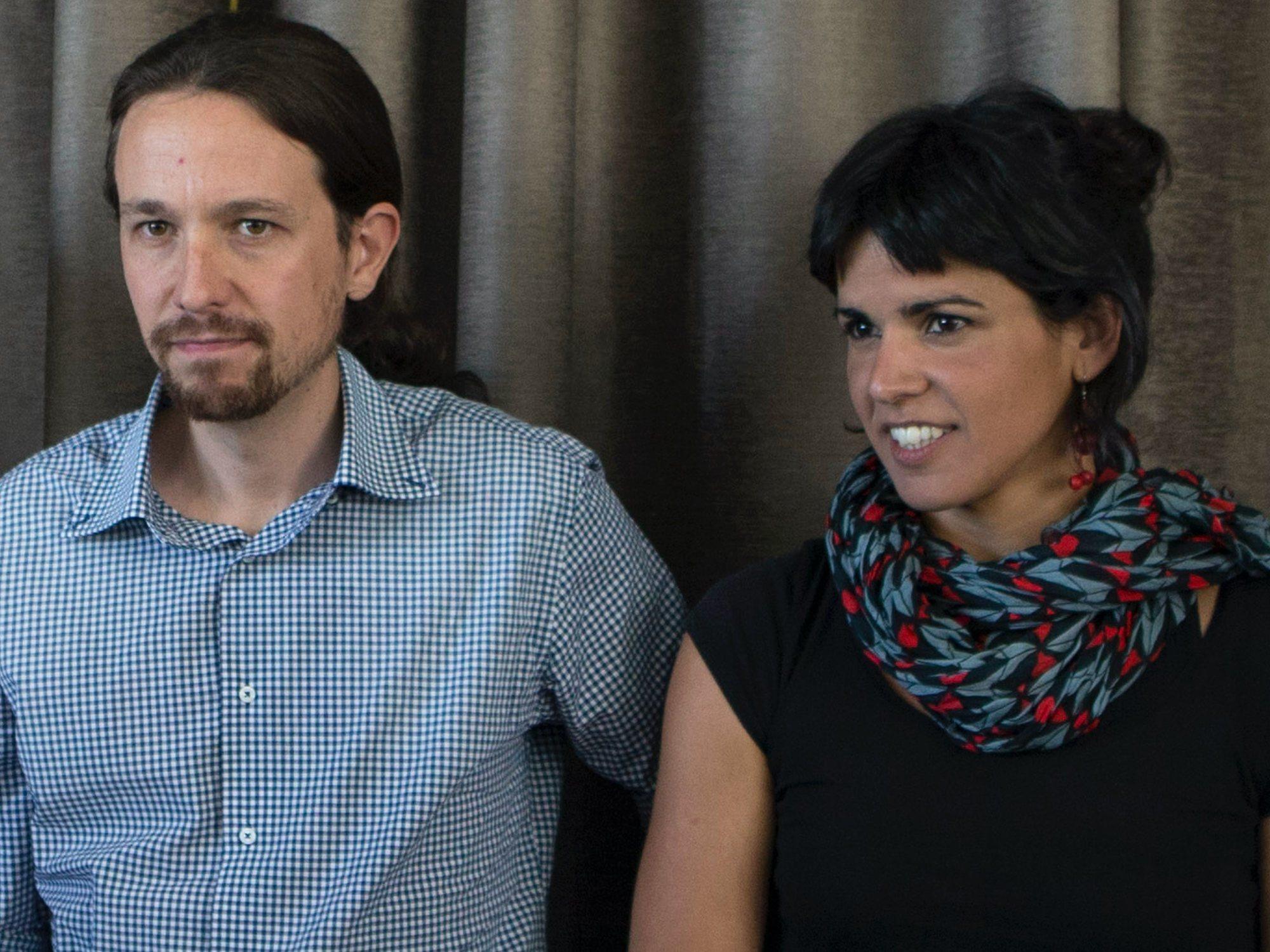 Ruptura entre Pablo Iglesias y Teresa Rodríguez, que abandona Podemos en Andalucía