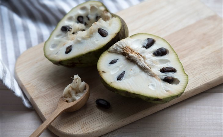 La chirimoya aporta muy pocas calorías