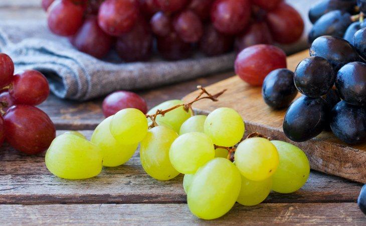 Hay muchas variedades de uva