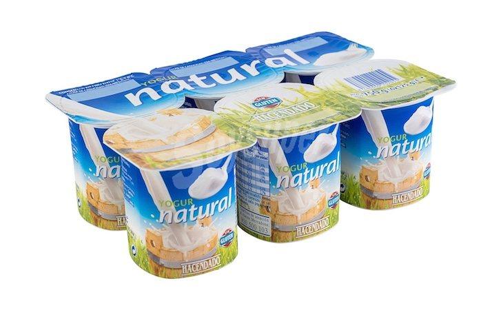 Es la empresa encargada de los yogures naturales de Hacendado