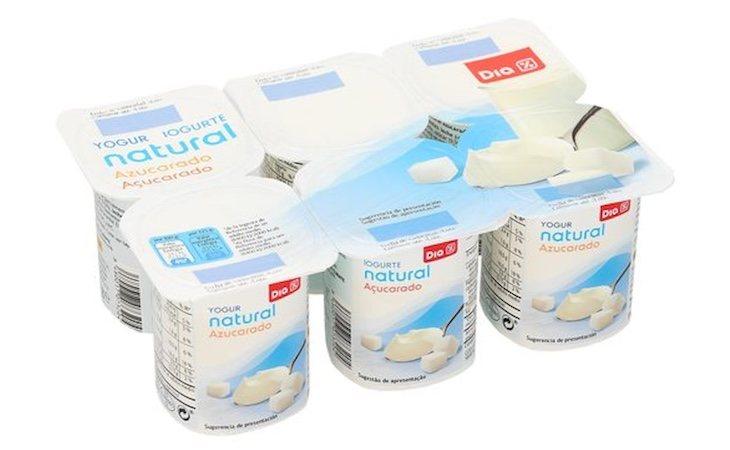 Andros produce yogures para diversos supermercados