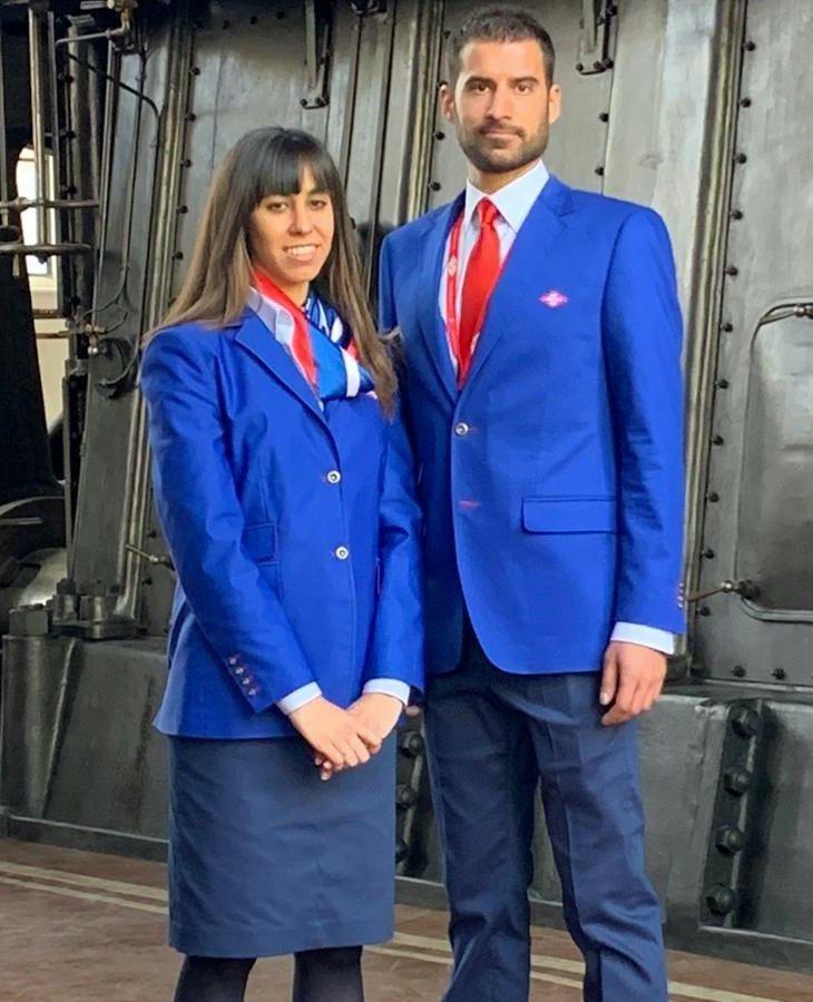 Nuevo uniforme de los trabajadores del Metro de Madrid