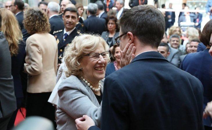 Manuela Carmena e Íñigo Errejón, impulsores de Más País