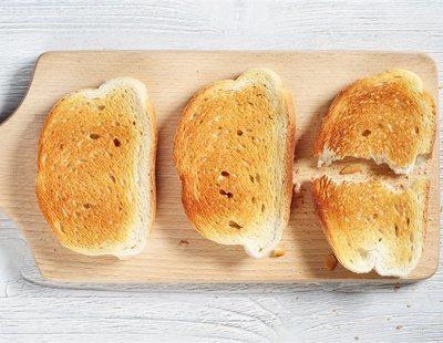 Acrilamida: El peligro desconocido de tostar demasiado el pan