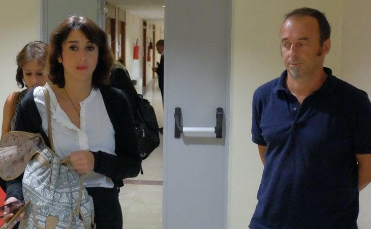 Juana Rivas y su expareja, Francesco Arcuri