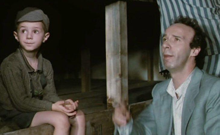 Giorgio tenía solo 5 años cuando actuó en 'La vida es bella'