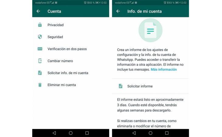 Ejemplo de cómo descargar el informe desde Android