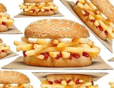 Burger King lanza una hamburguesa de patatas fritas