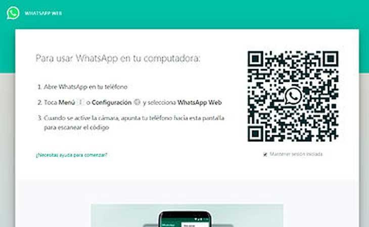 Cuidado con el uso de WhatsApp Web