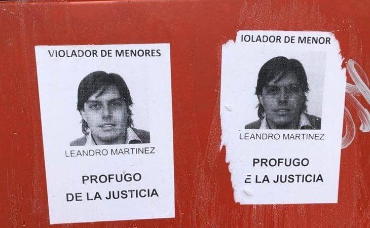 Leandro está denuciado por abuso sexual y corrupción de menores