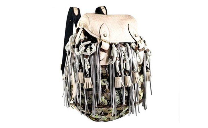El bolso mochila de Vuitton tiene un precio de 50.000 euros