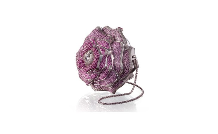 El bolso Leiber Precious Rose tiene un precio de 84.000 euros