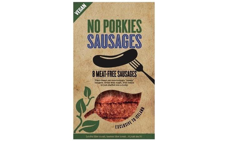 No Porkies Sausages