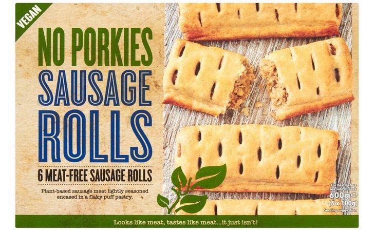 No Porkies Sausage Rolls