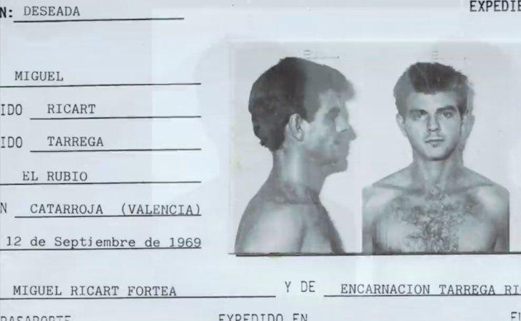 Miquel Ricart, uno de los detenidos