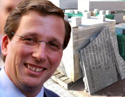 Investigan si Almeida cometió malversación destruyendo el memorial a las víctimas del franquismo