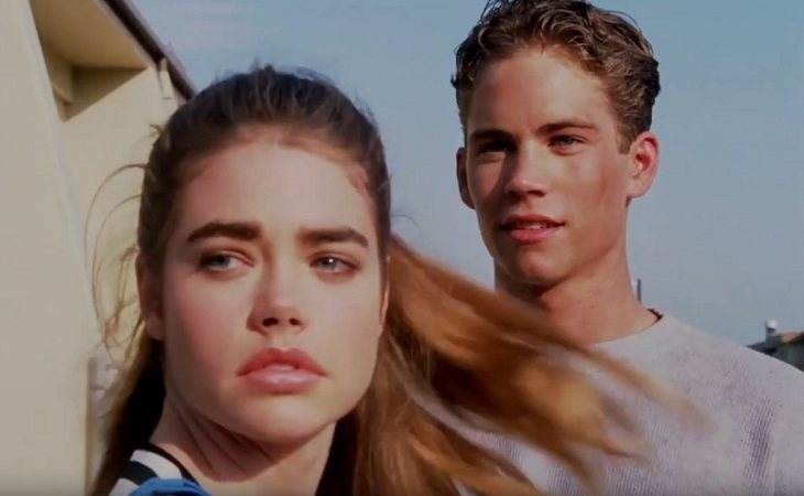 Denise Richards y Paul Walker en 'Tammy & the T-Rex'