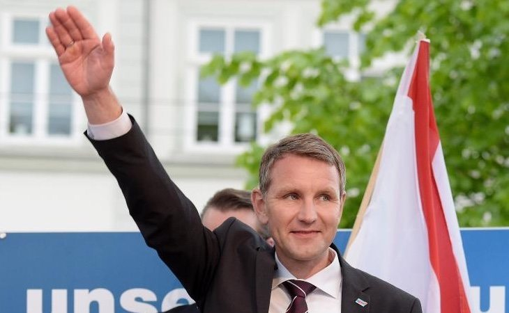 Björn Höcke es el dirigente de la ultraderechista AfD en el estado de Turingia